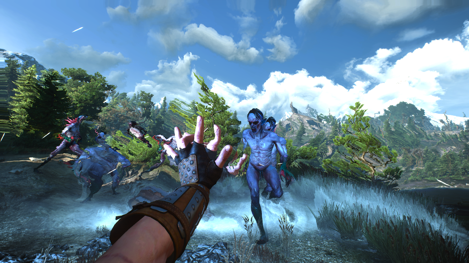 تصاویر جدیدی از The Witcher 3 با دید اول شخص