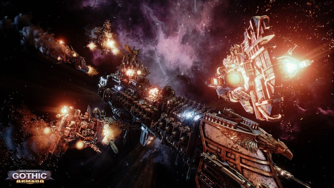 تماشا کنید: تریلر هنگام انتشار عنوان Battlefleet Gothic: Armada منتشر شد