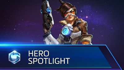 تماشا کنید: نگاهی به شخصیت Tracer در Heroes of the Storm داشته باشید
