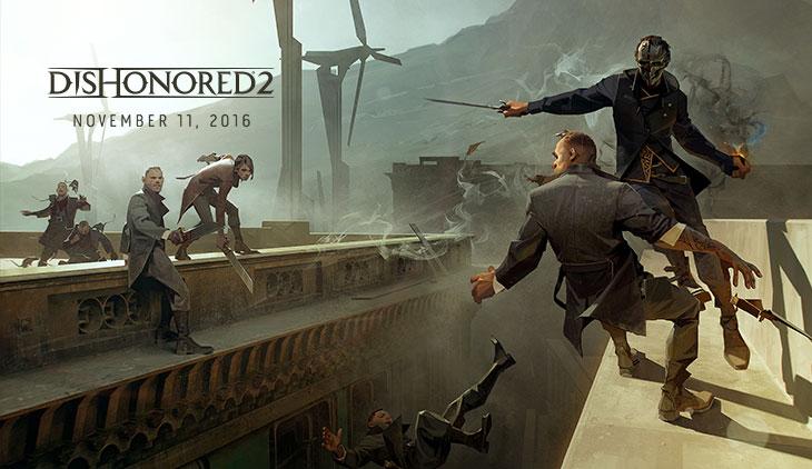 تاریخ انتشار Dishonored 2 مشخص شد | نمایش گیمپلی در E3 2016