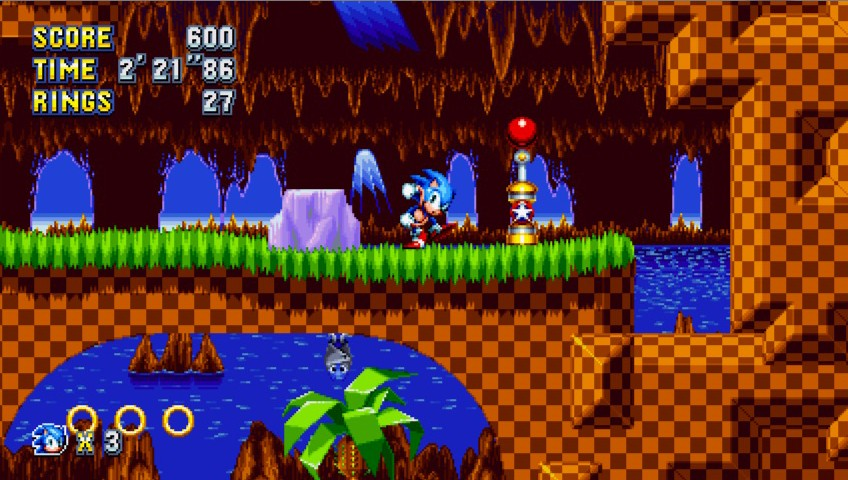نسخه رایانههای شخصی بازی Sonic Mania دو هفته تاخیر خورد