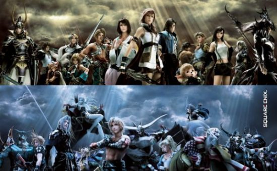 final fantasy dissida 012 wallpaper background roaster characters square enix action rpg role playing game