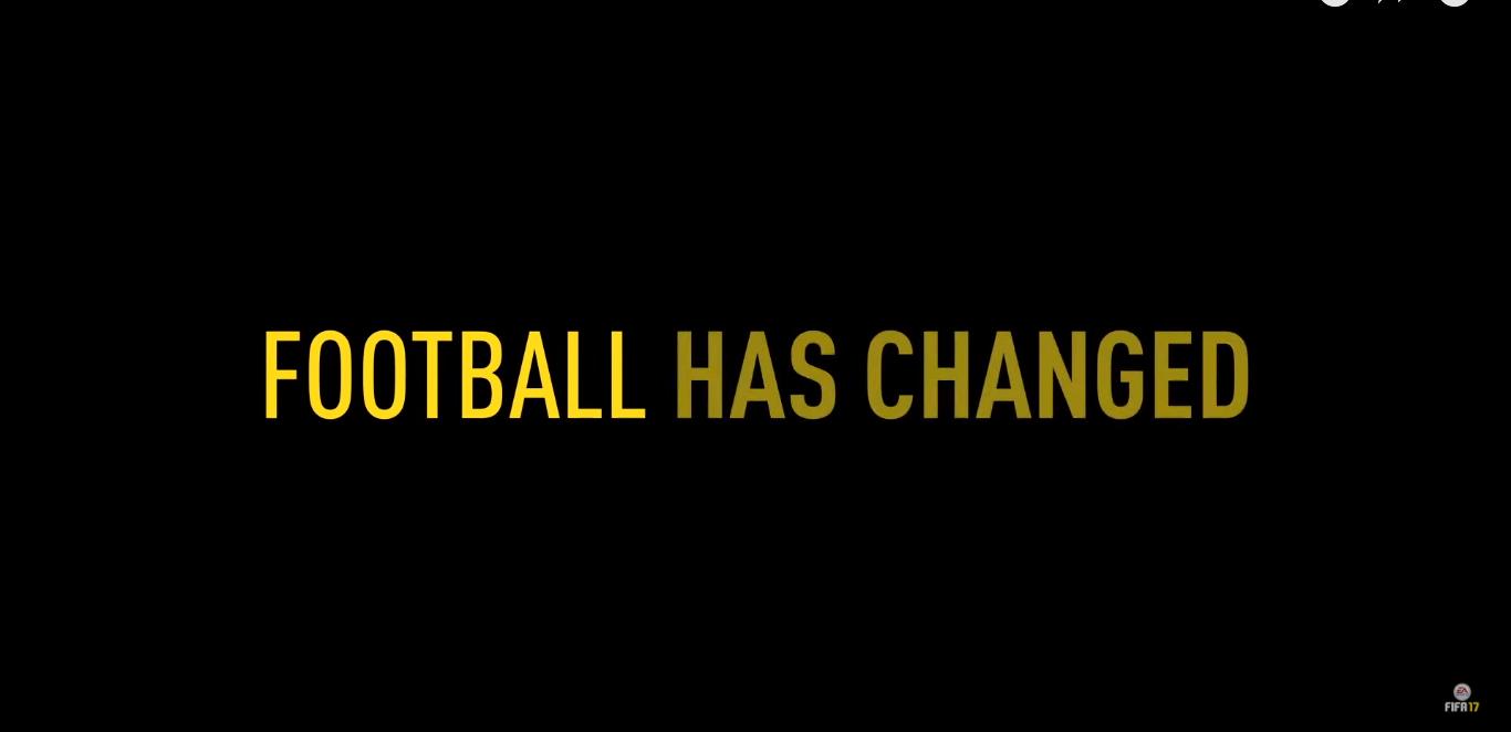 footbal has changed