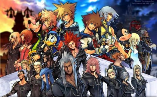 kingdomhearts final mix plus wallpaper background square enix action jrpg rpg japanese role playing game