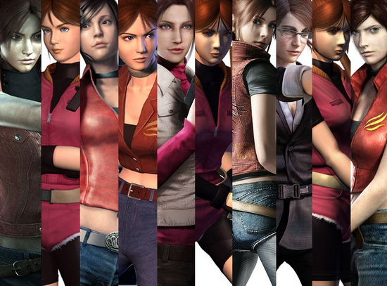 many_faces_of_claire_redfield_by_leelalouiselaracroft-d6jnz8y