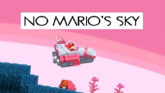 بازی جدیدی با ترکیب دو عنوان No Man's Sky و ماریو ساختهشد