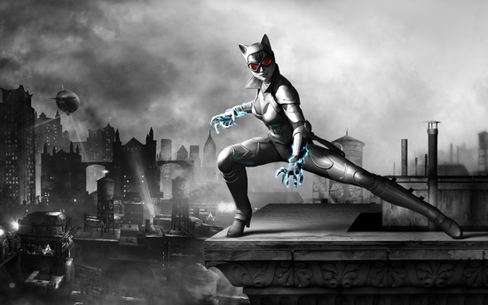 Batman Arkham Game Catwoman Desktop Wallpaper