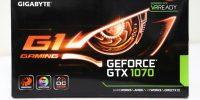 نگاهی به کارت گرافیک GIGABYTE GTX 1070 G1 Gaming