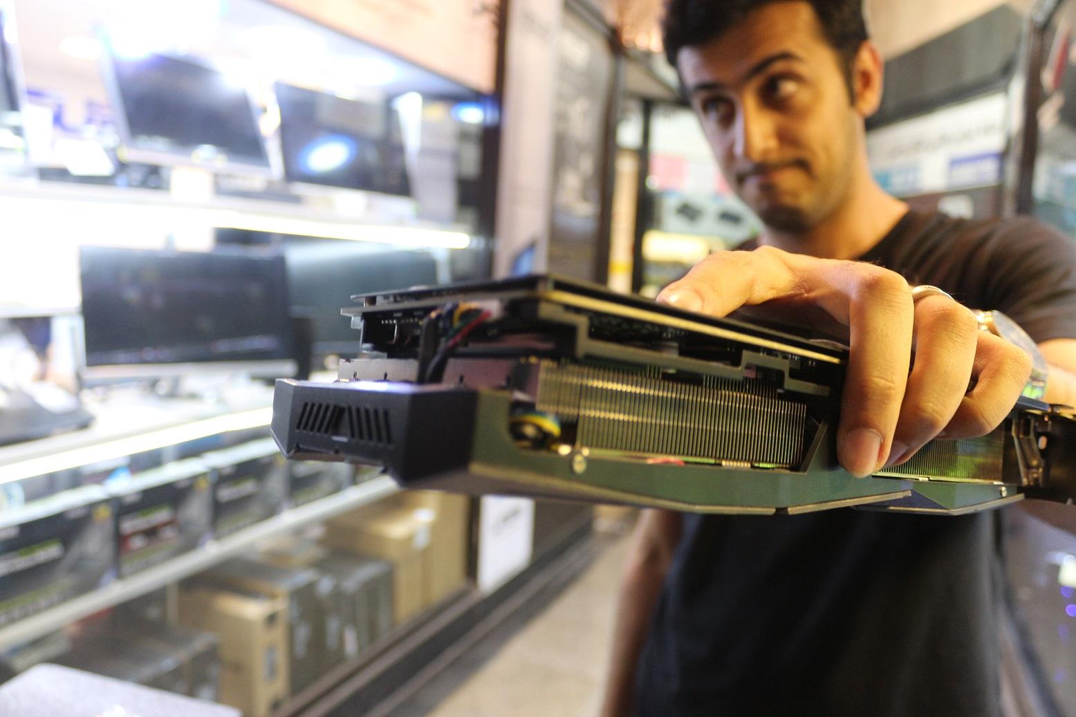نخستین GTX 1080TI در ایران توسط ایسوس رونمایی شد