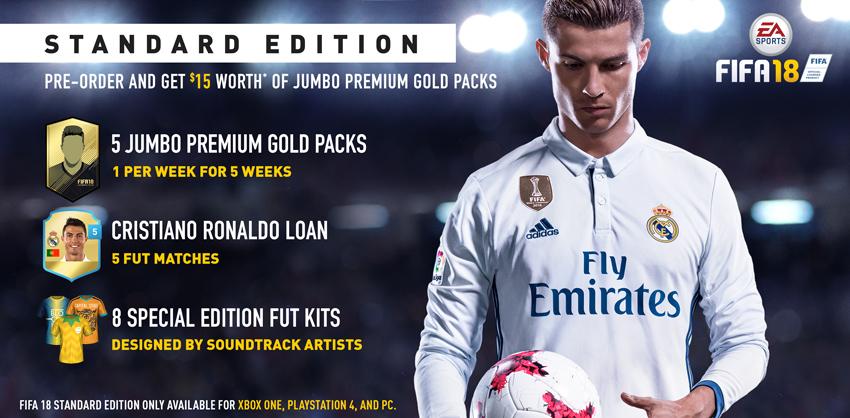 اولین اطلاعات در مورد FIFA 18 و همچنین نسخه سوئیچ آن منتشر شد