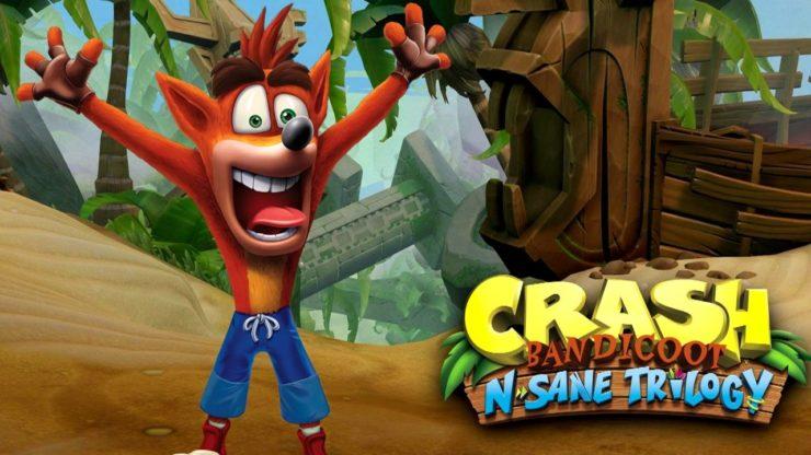 Crash Bandicoot N.Sane Trilogy برای کنسول نینتندو سوییچ لیست شد