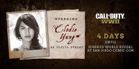 الودی یونگ در بخش زامبی Call of Duty: WW2 نقش دارد