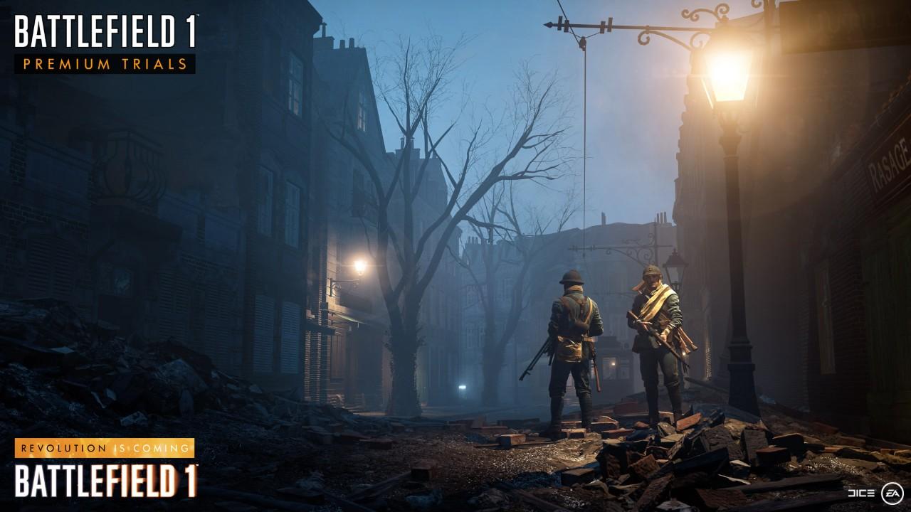 رویداد Premium Trials در ماه جاری برای کاربران Battlefield 1 در دسترس قرار خواهد گرفت