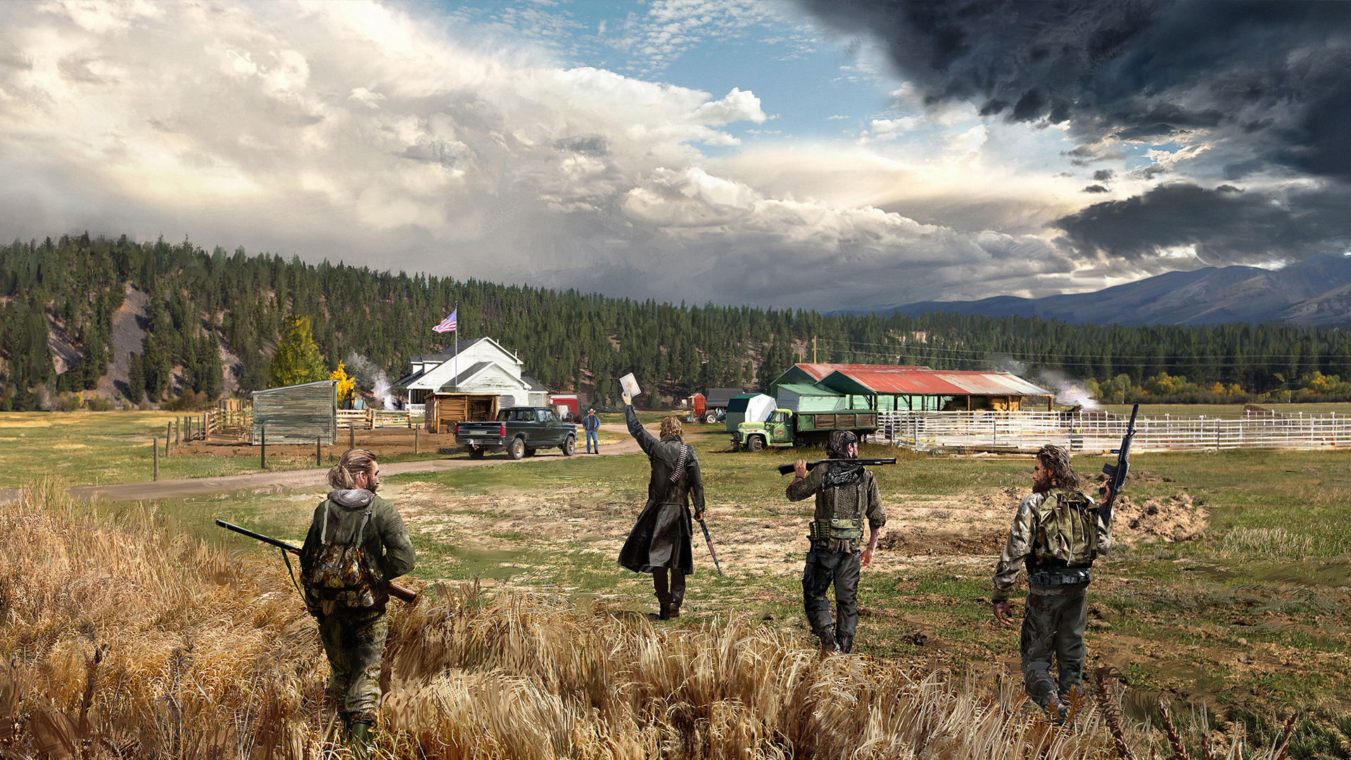 3245882 farcry5 3 - بازی اورجینال Far Cry 5 پلیاستیشن ۴