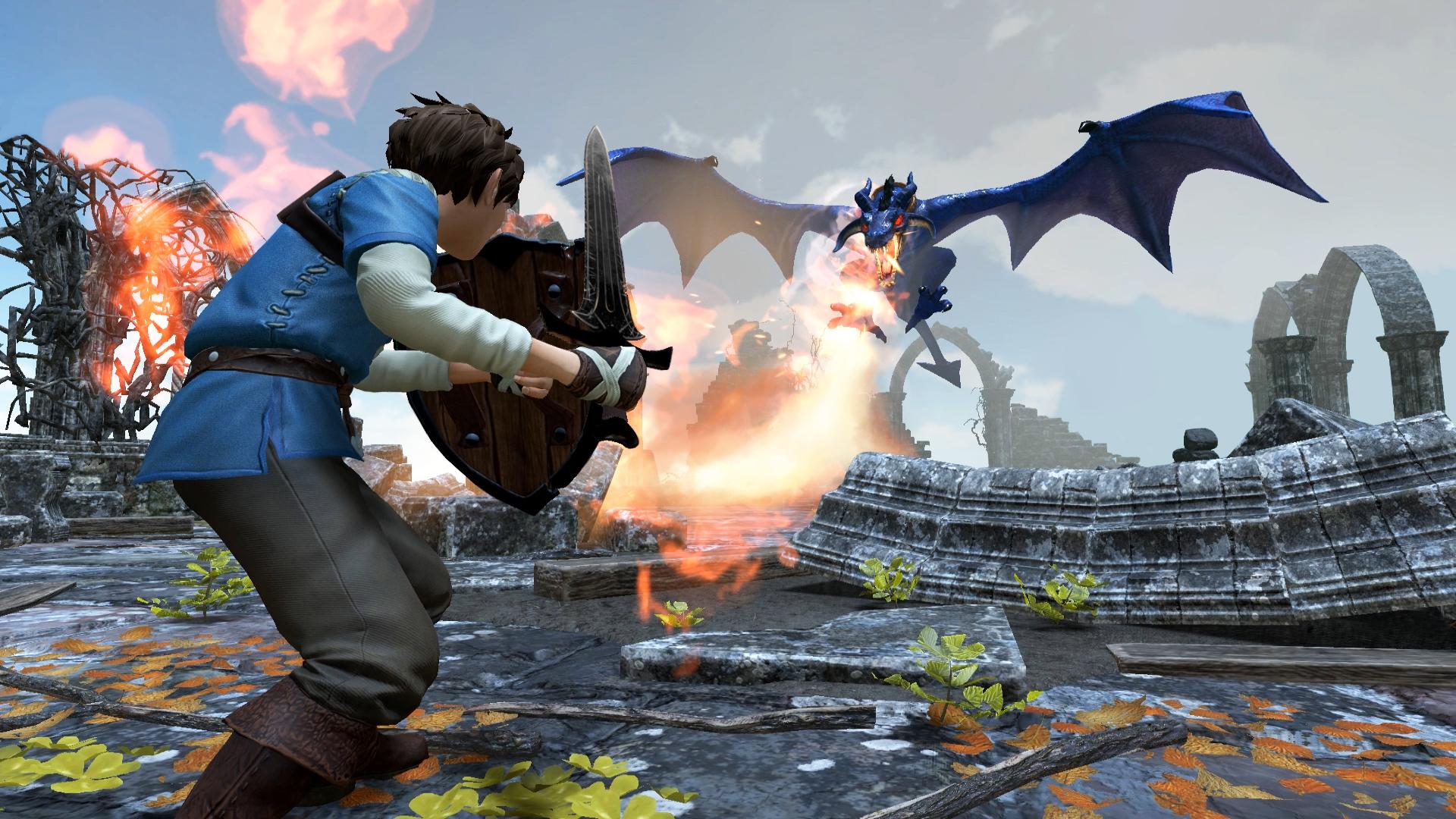 عنوان Beast Quest برای پلیاستیشن ۴، ایکسباکس وان و رایانههای شخصی معرفی شد