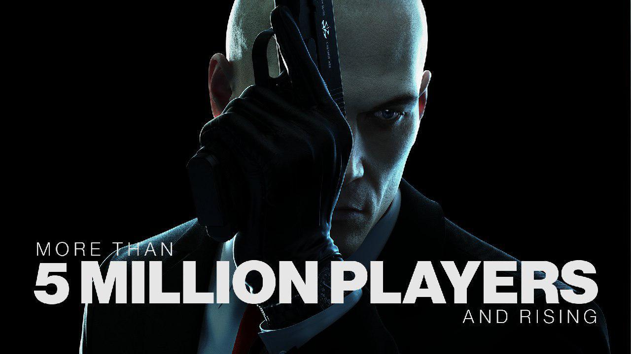 تعداد بازیکنان Hitman از مرز ۵ میلیون گذشت