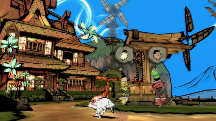 تماشا کنید: تریلرهای جدیدی از بازی Okami HD منتشر شد