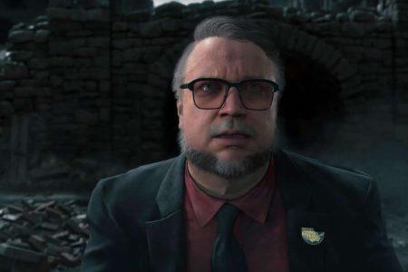 تبریک کوجیما به Guillermo del Toro برای بردن جایزه اسکار