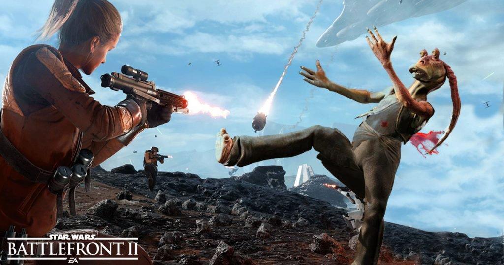 Star Wars Battlefront II هماکنون در دسترس پیشخریدکنندگان نسخهی دیلاکس قرار دارد