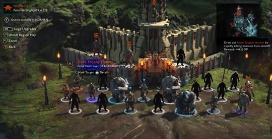 نگاهی کامل به سیستم Nemesis در بازی Middle-Earth: Shadow of War 5
