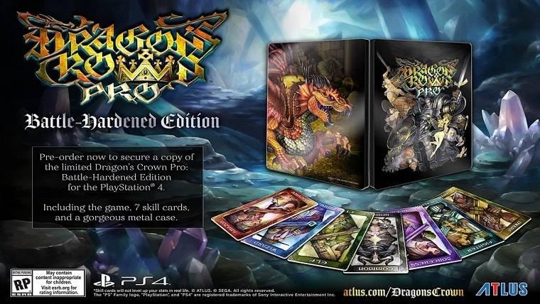نسخه ویژهای از بازی Dragon's Crown Pro برای عرضه در غرب رونمایی شد