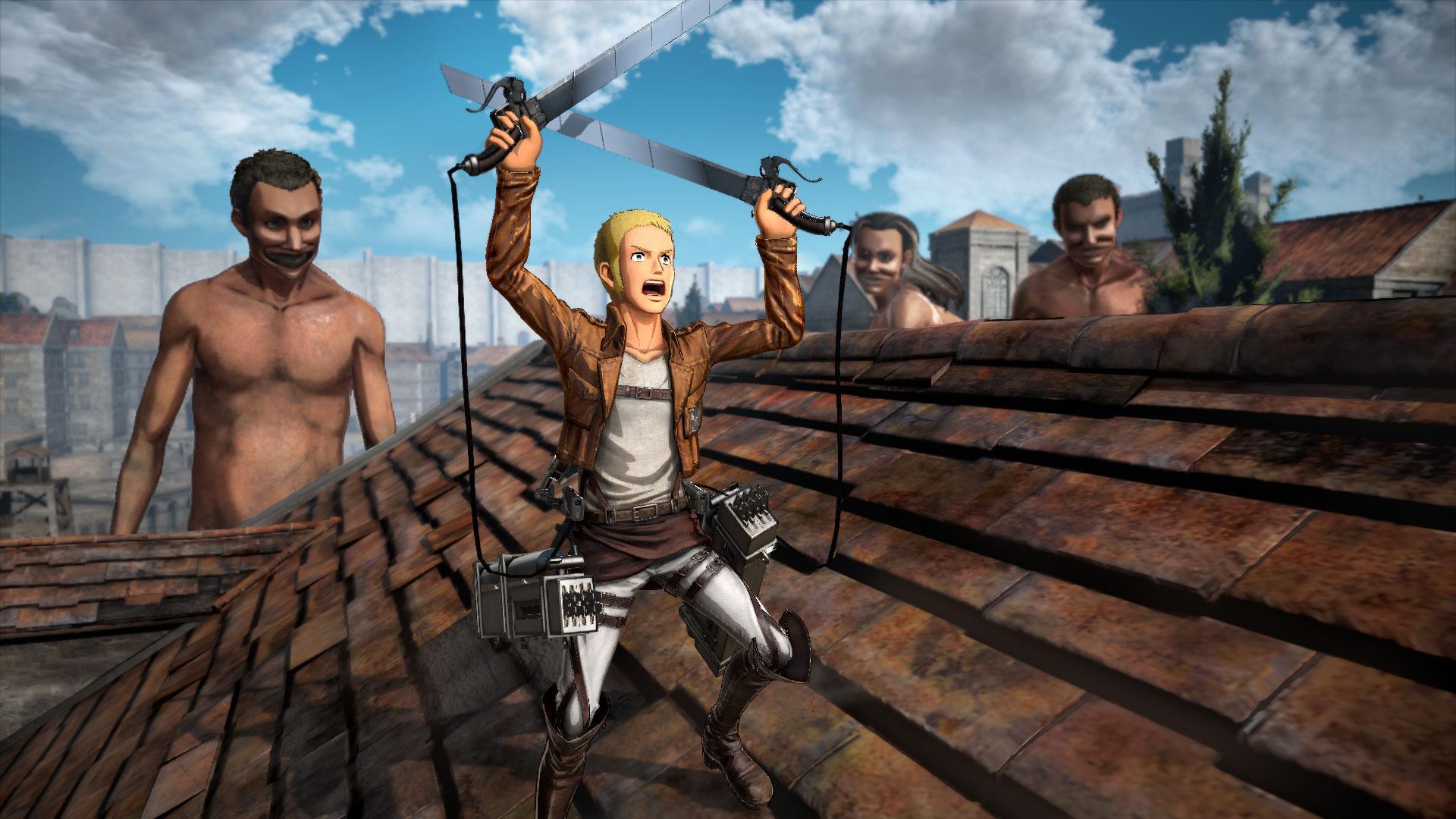تماشا کنید: تاریخ انتشار بازی Attack on Titan 2 مشخص شد