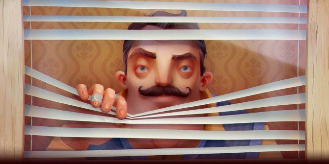 تماشا کنید: تریلر هنگام انتشار عنوان Hello Neighbor