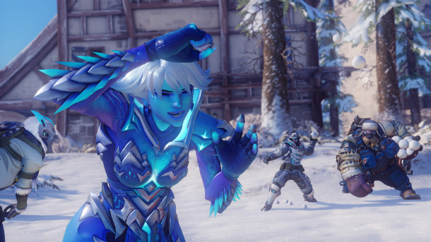 تماشا کنید: رویداد Winter Wonderland بازی Overwatch آغاز شد