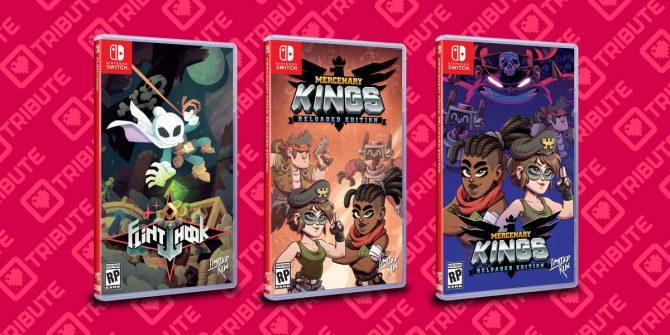 نسخههای فیزیکی دو بازی Mercenary Kings و Flinthook برای نینتندو سوییچ معرفی شدند