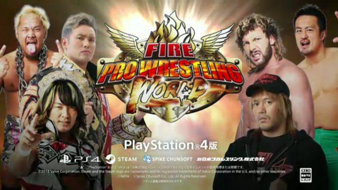 Fire Pro Wrestling World در تابستان ۲۰۱۸ برای پلیاستیشن ۴ منتشر میگردد