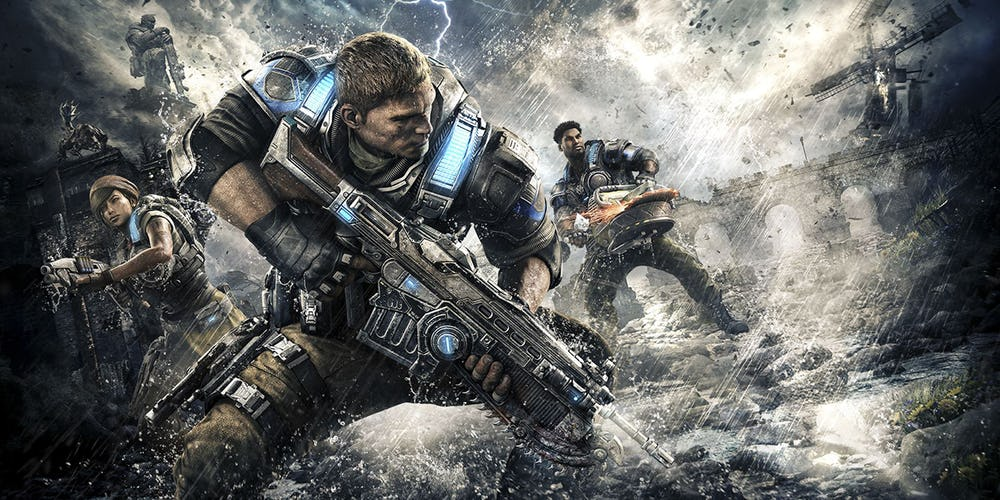 علاقه سازنده بازی Gears of War به اضافه شدن هیولای Brumak به Monster Hunter: World
