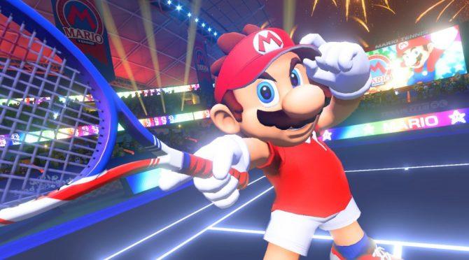 تاریخ انتشار و طرح روی جلد عنوان Mario Tennis Aces لو رفت