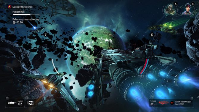 بازی Manticore – Galaxy of Fire برای نینتندو سوییچ هم عرضه خواهد شد
