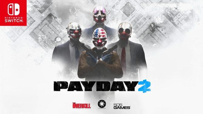 Payday 2 هماکنون در دسترس نینتندو سوئیچ قرار دارد