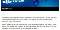 سونی نظرسنجی را در رابطه با تغییر نام کاربری شبکه PSN برگزار کرد
