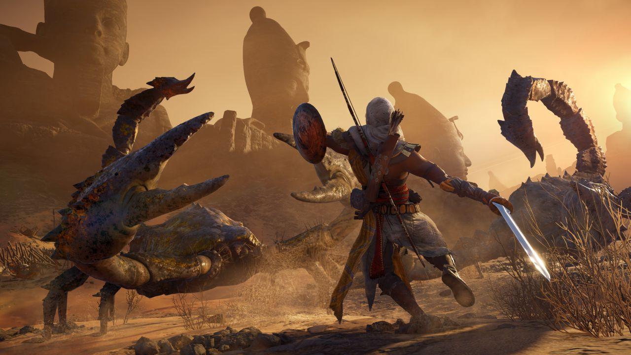 تریلر هنگام انتشار بستهالحاقی Curse of the Pharaoh عنوان Assassin's Creed Origins