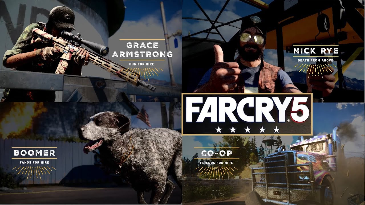 تریلری جدید از بازی Far Cry 5 منتشر شد