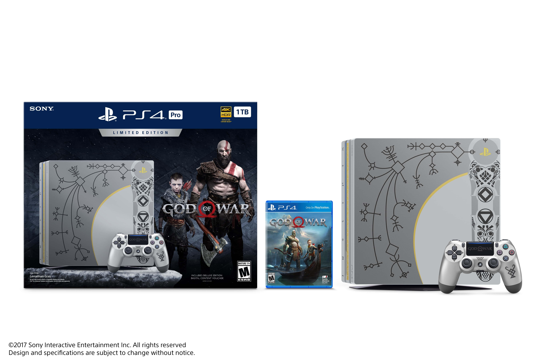 جزئیات بهینهسازی God of War برای PS4 Pro   معرفی یک باندل PS4 Pro با طرح تبر کریتوس