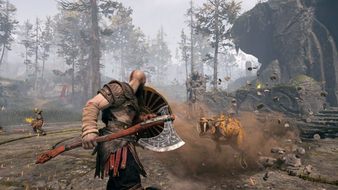 جدیدترین بهروزرسانی بازی God of War منتشر شد
