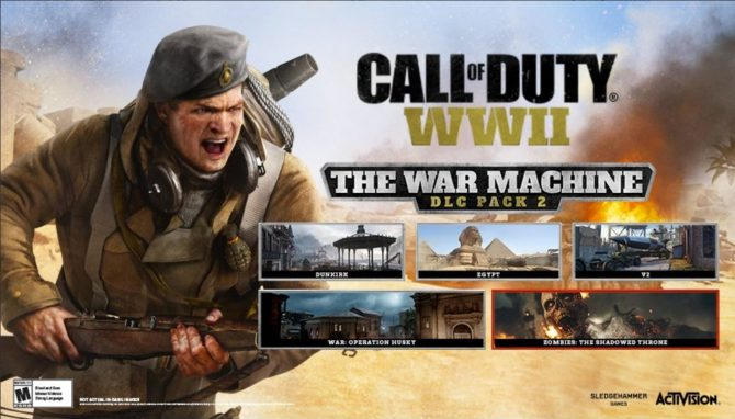 اولین تریلر از بستهی دانلودی The War Machine عنوان Call of Duty: WWII منتشر شد