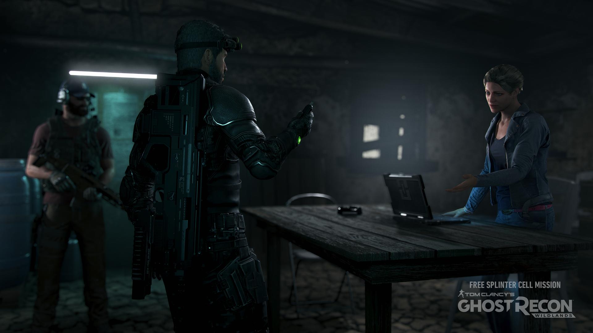 آیا بروزرسانی Ghost Recon Wildlands از نسخه جدید Splinter Cell خبر میدهد؟