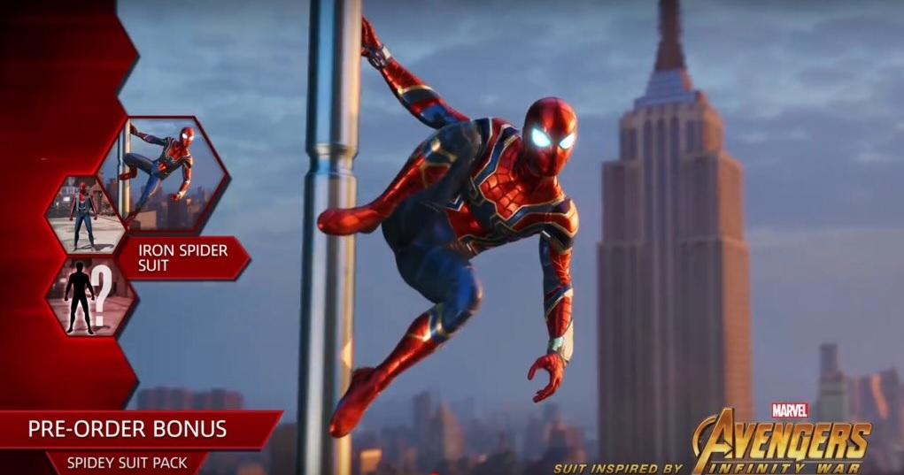 لباس Iron Spider برای عنوان Spider-Man تائید شد