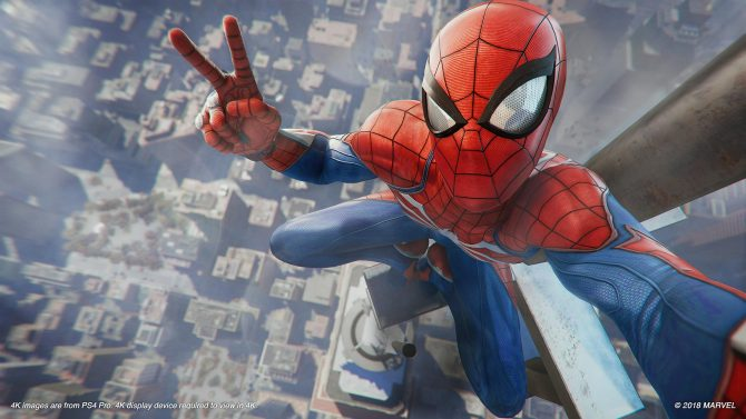 Spider-Man از تمام قدرت پلیاستیشن ۴ پرو استفاده میکند