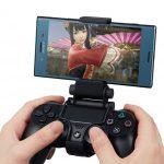 سونی از پایههای جدید برای استفاده کنترلر پلیاستیشن ۴ بر روی گوشی های هوشمند رونمایی کرد