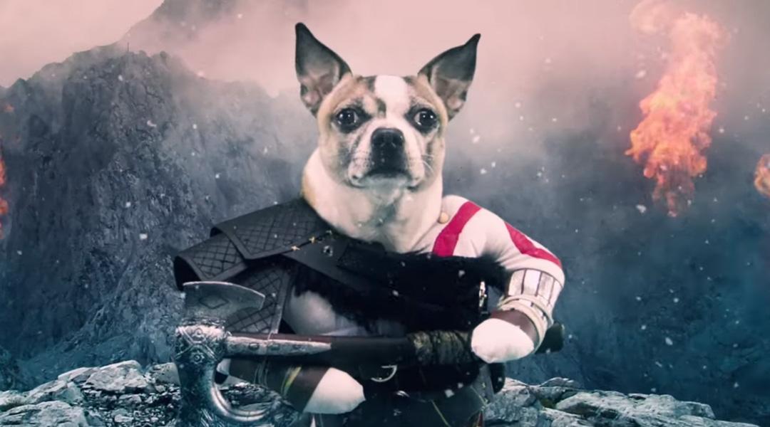 سونی ویدیویی طنز از بازی God of War منتشر کرد