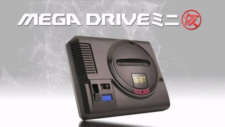 سگا کنسول The Mega Drive Mini را معرفی کرد