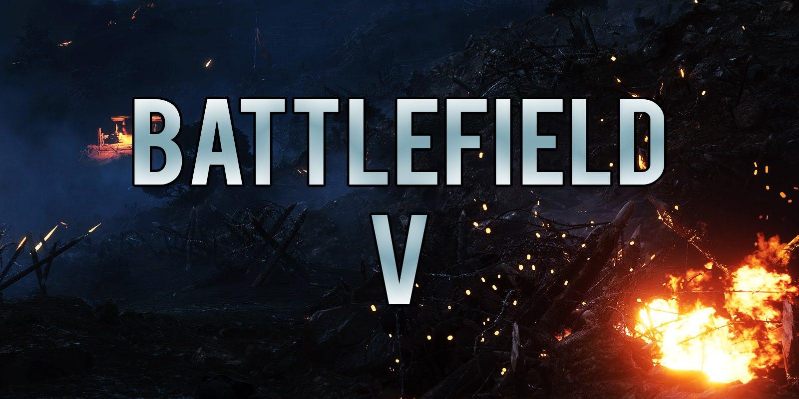 پوشش زنده معرفی بازی Battlefield V