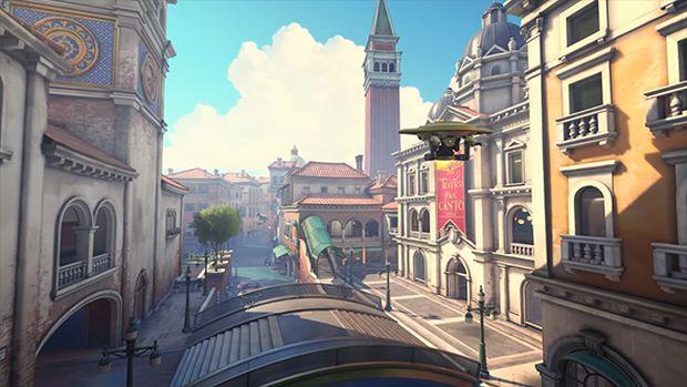 نقشه جدید بازی Overwatch رونمایی شد