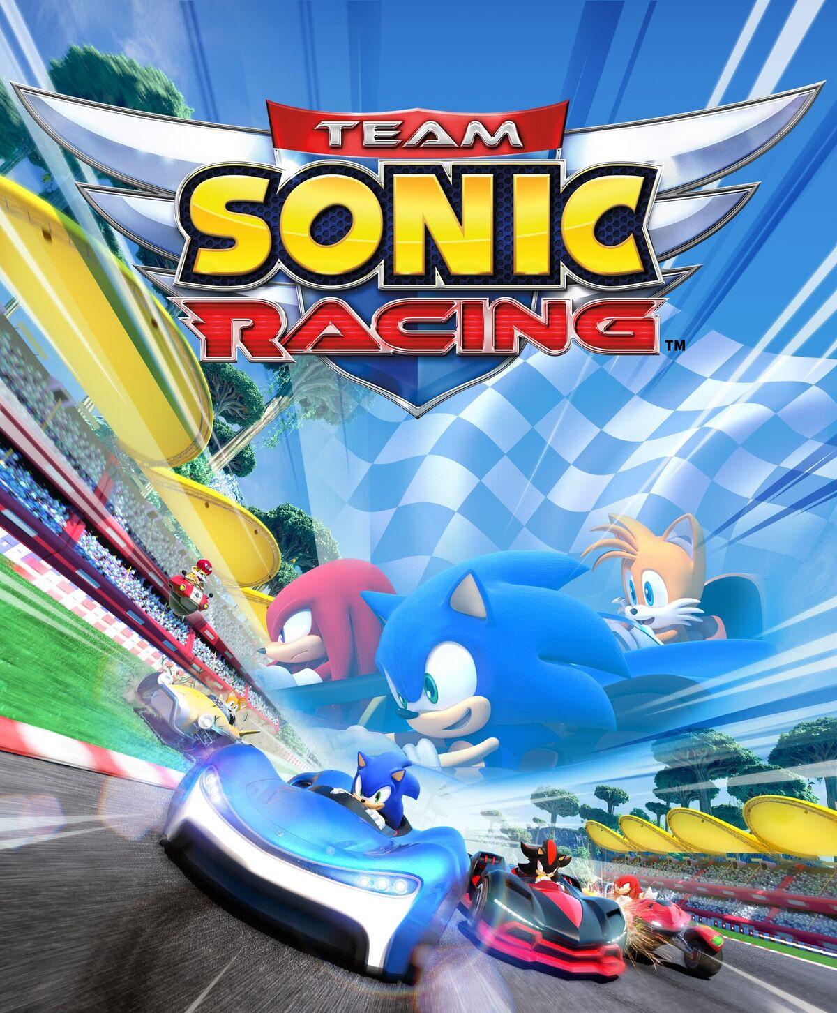 لذت سرعت با تیزپای آبی   نقدها و نمرات بازی Team Sonic Racing