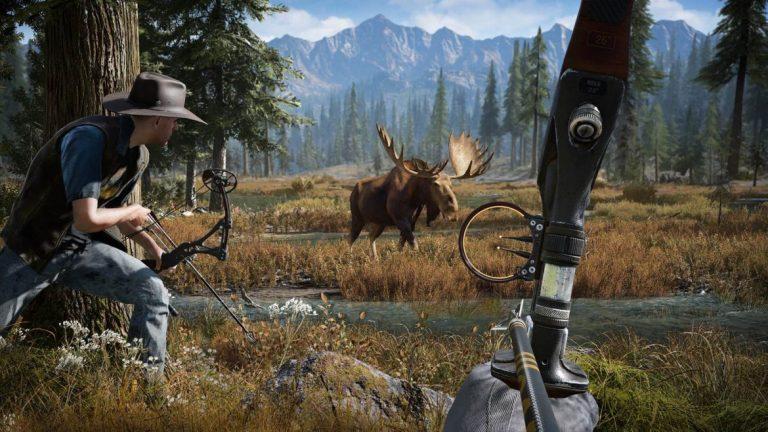 با تکمیل کردن رویداد جدید Far Cry 5 یک اسلحه بیل پرتاب کن دریافت کنید؟!